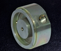 CNC Turned Stainless Steel Hydraulic Cap for the Oil and Gas Industry